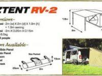 OZ-Tent RV-2 (für 2-3 Personen)