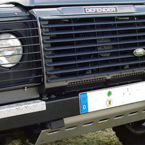 HD Lampenschutzgitter Defender Schwarz