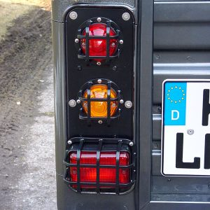 Lampenschutzgitter hintere eckige/runde Beleuchtung - Defender