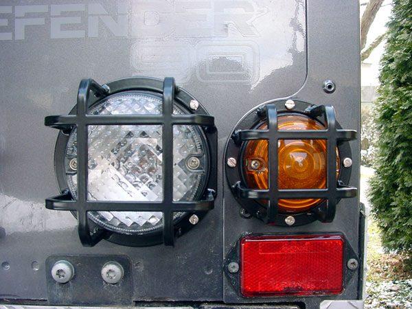 Lampenschutzgitter hintere runde Beleuchtung - Defender