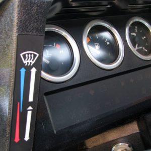 Alu Blenden+ Reglergriffe 7teilig Ausf. Uhr