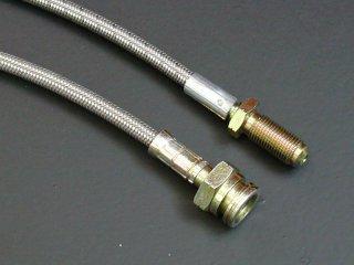 Braided steel brake line, 50cm ' M/M