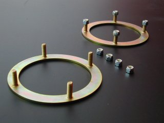 Turret retaining rings ' heavy duty