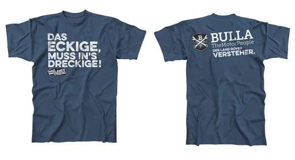 T-Shirt: Das Eckige muss ins Dreckige