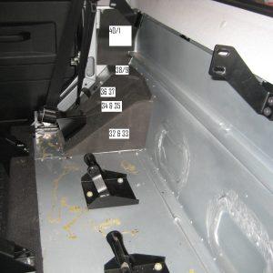 Noisekiller Komplett-Set für Defender 110/130 DCPU TD4