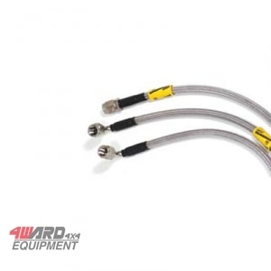 Goodridge Stahlflex Bremsleitungen für Defender 110 94-98 +50mm