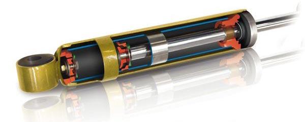 TJM Gold Edition Stoßdämpfer 110/130 hinten extra lang