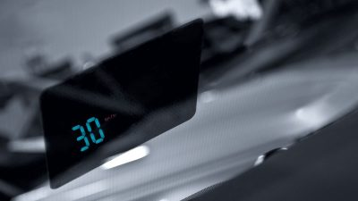 Kahn Design Head Up Display für TD4