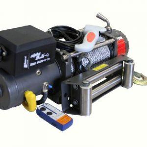 Alpha 9.5 Quick Edelstahl Ausführung! Seilwinde 12V