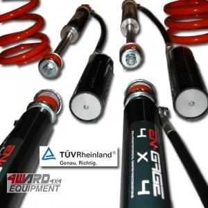 ENGAGE4X4 Fahrwerks-Kit Step 2 (mit Reservoir) für Defender 90