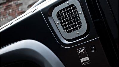 Kahn Design seitliche Lufteinlassgitter mit Wire Mesh
