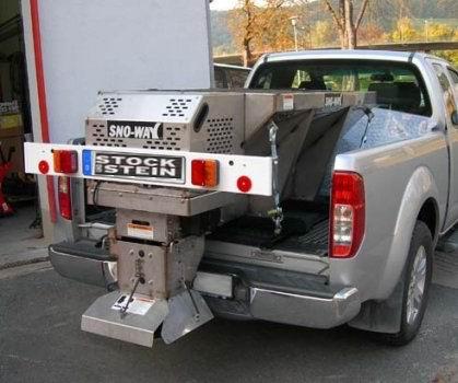 Abdeckung - SNOW WAY - V Streuer 380 Liter